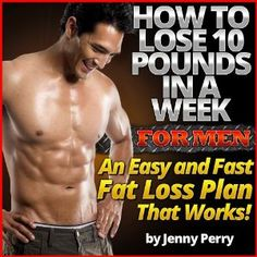 Rapid Weight Loss System: How To Lose 10 Pounds in a Week for Men (Kindle Edition)  http://www.amazon.com/dp/B006VOJQTK/?tag=myamazon0ea1-20  B006VOJQTK