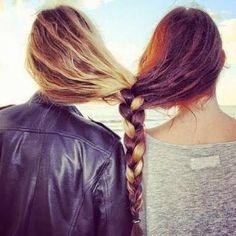 amigas hair tutorial snapchat tumblr bff best friends love braid
