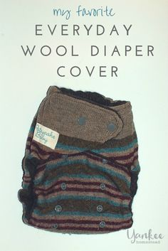 An update on our cloth diapering journey, my favorite wool diaper cover for everyday use, a special reader discount, and a cloth diaper giveaway!
