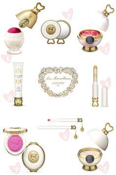 Les Merveilleuses de Ladurée – Ladurée + Albion cosmetics via Ava Smith....I want this collection with the passion of a thousand suns........