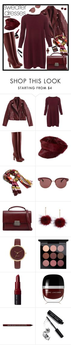 """Sweater Dresses"" by marionmeyer ❤ liked on Polyvore featuring Repeat, Victoria Beckham, Prada, Vera Bradley, Oliver Peoples, Yves Saint Laurent, Nine West, Bobbi Brown Cosmetics, Marc Jacobs and Charlotte Russe"