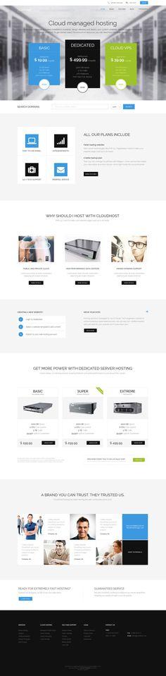 http://www.behance.net/gallery/CloudHost-Best-Hosting-WordPress-Theme/11884411
