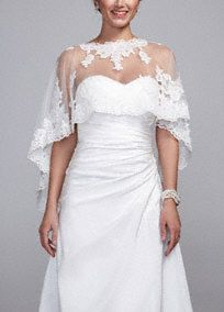Sleeves and Coverage Options by David's Bridal