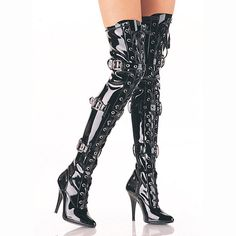 Eur35 45 Extreme high heel 12cm High Heel overknee boots shiny patent leather thigh  crotch boots metal heels woman boots-in Over-the-Knee Boots from Shoes on Aliexpress.com   Alibaba Group