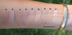 dior skin star foundation swatches