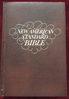 New American Standard Bible Reference Edition 1973 Concordance Maps Hardbound