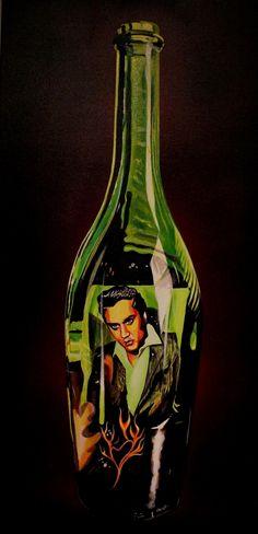 Love Me Tender - Original Artwork http://www.rockstargallery.net/stacey-wells #elvispresley #elvis