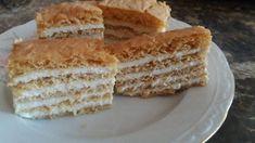Orosz mézes (medovik) Vanilla Cake, Baking, Desserts, Cakes, Recipes, Advent, Dios, Tailgate Desserts, Deserts