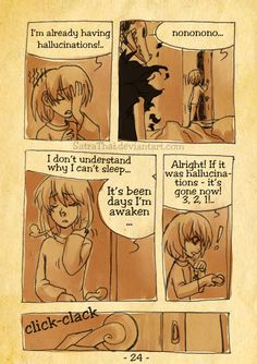 #366 Days of Sketches - 130 - Insomnia page 24 by SatraThai.deviantart.com on @DeviantArt