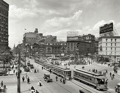 Woodward Avenue Detroit, Michigan 1917