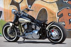 #Thunderbike Cross-Bobber (#Harley Davidson Softail Cross Bones) customized