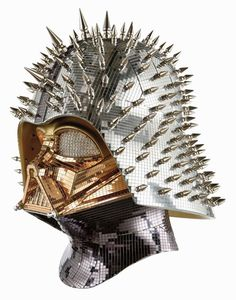 The Vader Project, 100 underground artists each customize one scale Darth Vader helmet to be auctioned. Bd Star Wars, Star Wars Helmet, Vader Helmet, Star Wars Art, Star Trek, Home Entertainment, Inspektor Gadget, Marvel Dc, Image Blog