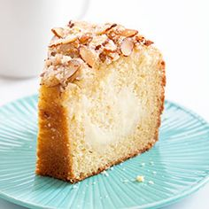 ?? Cream Cheese Coffee Cake ?? Sharing our favorite recipes with you! Coffee cake does not necessarily contain coffee but it sure goes well with your #cupofjoe