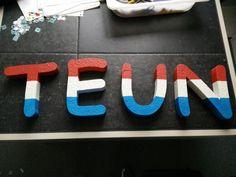 De 2e ronde van deze letters, nu voor de leger kamer!