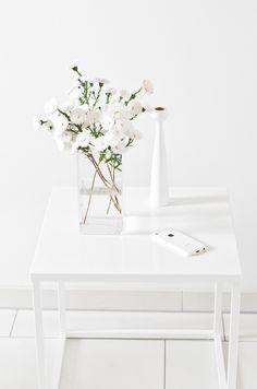 Einblicke bei wiesoeigentlichnicht - Mit Weiß dekorieren.