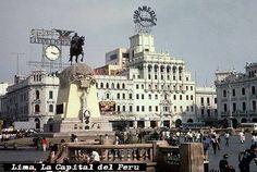 ciudades del peru - Plaza San Martin Lima Peru