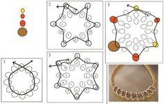 схема плетения 1