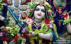 To view Radha Close Up Wallpaper of ISKCON Chowpatty in difference sizes visit - http://harekrishnawallpapers.com/srimati-radharani-close-up-wallpaper-003/
