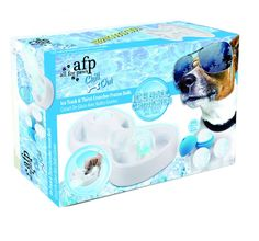 Ice Track & Thirst Cruncher Ice Balls - The ice track is the best way for your dog to keepcool during hot summer days. With the sphere shape ice that he can lick all around the track, he will cool down, have fun and quench its thirst. This cool toys will keep your pet entertained as well as cool. £19.99