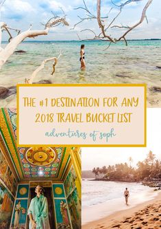 THE MUST SEE DESTINATION FOR ANY 2018 TRAVEL BUCKET LIST. I can assure you, it's a goodie! Think fresh, healthy curries, palm tree dotted beaches and endless fields of tea plantations.