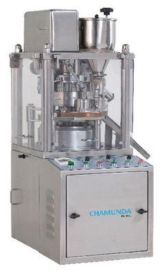 CHAMUNDA Pharma Machinery Manufacturer In India Provides, Mini Tablet Press Machine, Small Pill Press, R&D Tablet Press, Lab Tablet Press, Small Press Machine.