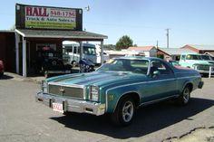 1976 Chevrolet El Camino.