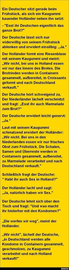 Ein Deutscher sitzt gerade beim.. | Lustige Bilder, Sprüche, Witze, echt lustig