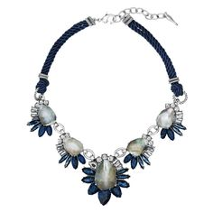 Our new fall collection includes this beautiful necklace and much more. Northern Mist Statement Necklace