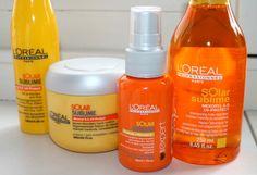 L'oreal Professionnel Solar Sublime haircare