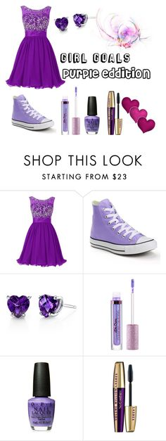"""""""Girl Goals"""" by starcrashing on Polyvore featuring Converse and Oravo"""