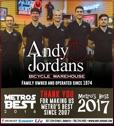 Andy Jordan's Bicycle Warehouse - Augusta, GA. 706-724-2453 Liv Giant Specialized