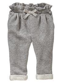 Baby Girls' Pants: organic knit pants, corduroy pants, leggings at babyGap | Gap