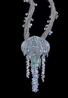 Victor Velyan Jelly Fish Necklace