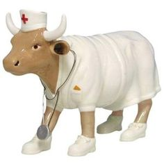 Cow Parade Nurse Nightencow Cow             i have one of these.   I luv it.