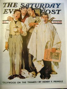Saturday Evening Post, 1936 // By Norman Rockwell