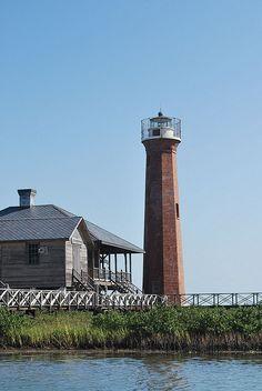 Gulf Coast Lighthouse   by peterlfrench
