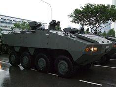 El Terrex 8×8 APC es un vehículo blindado de transporte de unidades militares, diseñado por los ingenieros de ST Kinetics y actualmente en servicio por las Fuerzas Armadas de Singapur. El vehículo, que ofrece una alta movilidad y capacidad de supervivencia, dispone de un espacio interior para 13 personas, contando con un sistema de inflado de rueda integrado que permite ajustar de forma automática el nivel de presión de los neumáticos, adaptándose mejor a los diferentes terrenos.