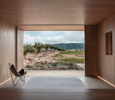 Located in Fontanars dels Alforins, Valencia, Spain, Cottage in the Vineyard is a retreat designed by Ramón Esteve Estudio in Contemporary Architecture, Interior Architecture, Technical Architect, Best Barns, One Story Homes, Story House, House And Home Magazine, Traditional House, Elle Decor