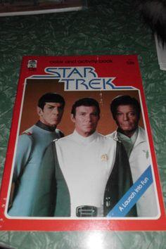 STAR TREK ORIGINAL VINTAGE 1979 COLORING/ACTIVITY BOOK UNUSED