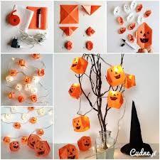 Znalezione obrazy dla zapytania dekoracje na halloween diy