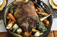 Since eye round of beef is generally tougher, this rotisserie beef recipe allows you to cook it over low heat for a juicy result.