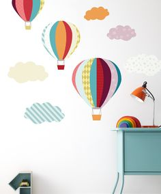 Mamas & Papas Patternology - Balloons Wall Stickers