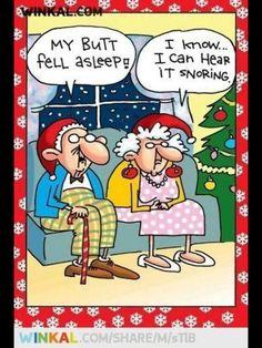 CHRISTMAS WITH GRANDMA AND GRANDPA