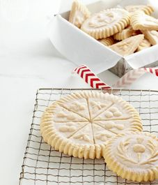 Using just three household ingredients you can whip up a batch of traditional Scottish shortbread cookies for the holiday season.