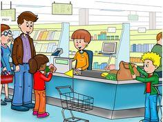 TAAL Woordenschat: Wat zie je? Wat kun je hier doen? Wat kun je hier kopen? Supermarkt praatplaat