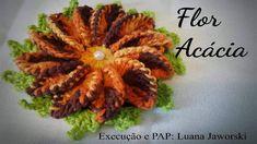 Flor Acácia Crochê | Passo a Passo | Luana Jaworski | Supremo Flores