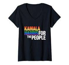 Womens Funny Quilting Is My Therapy Gift Novelty V Neck T Shirt Women Branded T Shirts, Printed Shirts, Kamala Harris, Rainbow Pride, Funny Tees, Gay Pride, V Neck T Shirt, T Shirts For Women, Mens Tops