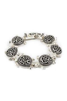 Turtle Charm Bracelet | Emma Stine Jewelry