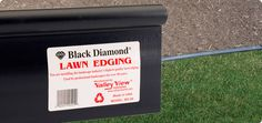 Valley View Lawn Edging