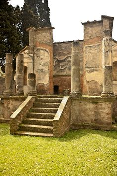 Temple of Isis, Pompeii - - - - - -